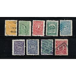 Kyпить Columbia stamps #360 - 367, used, with shades, complete set, 1920 - 21, SCV $13 на еВаy.соm