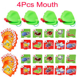 Kyпить Frog mouth Take Card Tongue Tic-Tac Chameleon Tongue Funny Board Game на еВаy.соm