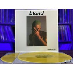 Kyпить Frank Ocean- Blond Deluxe Edition White Cover Blonde Vinyl LP на еВаy.соm