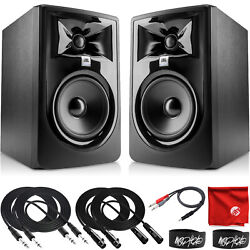 Kyпить JBL Professional 305P MkII 5-Inch 2-Way Powered Studio Monitor Pair with Cables на еВаy.соm