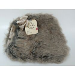 Bond & Co Size XS Nord Fur  Dog  Jacket with Faux Fur Trim size 11-13in