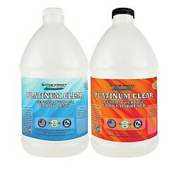 Kyпить Crystal Clear Epoxy for bar tops, tables, crafts, jewelry, castings-1 Gallon Kit на еВаy.соm