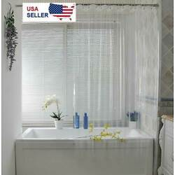 Kyпить Clear Shower Curtain Liner Anti-Bacterial PEVA 72x72 Water Repellent US на еВаy.соm