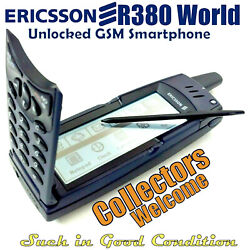 Kyпить Ericsson R380 World, GSM Unlcoked Smartphone, A Collectors item. Good Condtion. на еВаy.соm