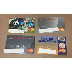 Kyпить 4 Expired Credit Cards For Collectors - Master Card Lot (9121) на еВаy.соm