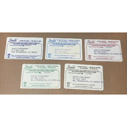 Kyпить 5 Expired Credit Cards For Collectors - Stacks Coin Dealer Lot Thin Cards (9129) на еВаy.соm
