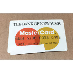 Kyпить Expired Credit Card For Collectors The Bank Of New York MasterCard (9136) на еВаy.соm