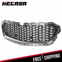 Kyпить NEW Front Center Grille Grill Fits 2014-2015 Chevrolet Malibu 14 15 Silver Black на еВаy.соm