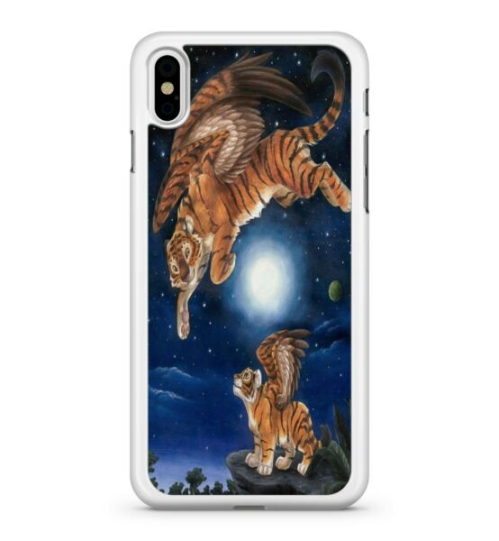 GroßbritannienCelestial  Engel Winged Tiger Tiere Milky Way Sky Handy Hülle