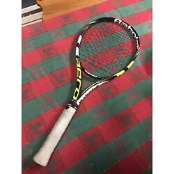 Kyпить babolat pure aero Plus 4 5/8. See Picture. 9.5 Out Of 10.  Barely Used. на еВаy.соm