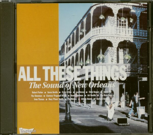 Axstedt,DeutschlandVarious - All These Things - The Sound Of New Orleans (CD) - Pop Vocal