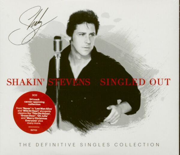 Axstedt,DeutschlandShakin' Stevens - Singled Out - The  Singles Collection (3-CD) - Re...