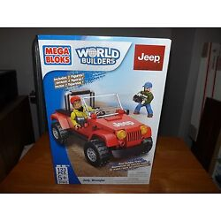 Kyпить MEGA BLOKS, WORLD BUILDERS, JEEP WRANGLER, #97803, NEW IN BOX, 2014, DIFF FIGS на еВаy.соm