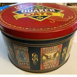 Kyпить Round QUAKER OATS COOKIE TIN Limited Edition! Vintage 1983 ~ 7x4 Inches на еВаy.соm