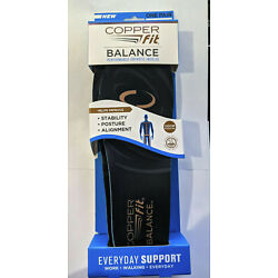 Copper Fit Balance Performance Copper Infused Orthotic Insole Pair - Large