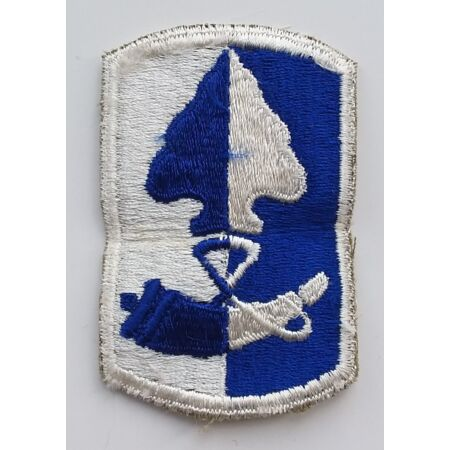 img-US ARMY PATCH 187th Infantry Brigade Colour Class A Uniform Badge United States