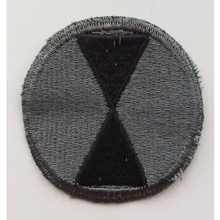 img-US ARMY PATCH 7th Infantry Division ACU OCP Combat Uniform Badge United States