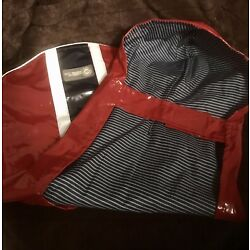 American Kennel Club Red, Reflective Rain Coat Size Large, Never Worn, No Tags