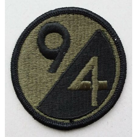 img-US ARMY PATCH 94th Infantry Division BDU Battle Uniform Badge United States USA