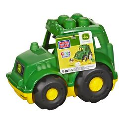 Kyпить Mega Bloks John Deere Lil' Tractor with 1-Block Buddy Figure на еВаy.соm