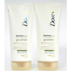 (2 Pack) Dove Derma Spa Goodness3 With Omega Oil Dry Skin Body Lotion 6.76 Oz