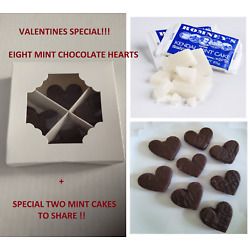 ROMNEY'S VALENTINE EDITION | 8-PIECE HEART MINT CAKES+ 2 EXTRA FREE BARS 40G !!