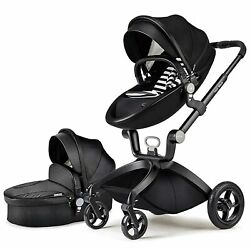 Kyпить HOT MOM 3-IN-1 TRAVEL SYSTEM STROLLER (BLACK) ADJUSTABLE SEAT ANGLE BRAND NEW на еВаy.соm