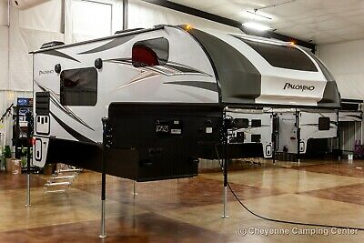 New 2021 Palomino BackPack HS-8801 Pickup Truck Camper with Toilet and Shower