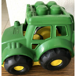 Kyпить Mega Bloks Big Blocks John Deere Lil' Tractor First Builders на еВаy.соm