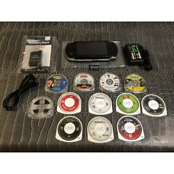 Kyпить Sony PSP 1000 Portable Entertainment Pack - Black with 7 Games and 5 Movies  на еВаy.соm
