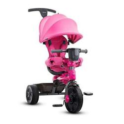 Kyпить  Tricycoo 4.1 Kid's Tricycle, Push Tricycle, Toddler Trike, Pink на еВаy.соm
