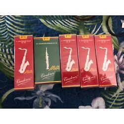 Kyпить Lot Vandoren 21/2 Tenor and Soprano Sax Reeds  на еВаy.соm