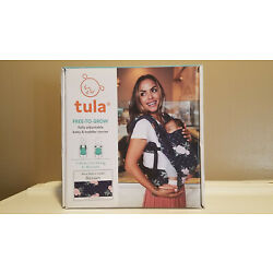 Kyпить Tula Free To Grow Baby Toddler Carrier * Blossom Navy Floral * NEW Open Box на еВаy.соm