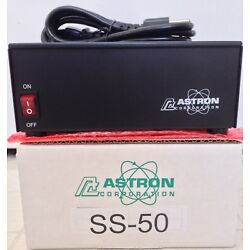 Kyпить ASTRON POWER SUPPLY SS-50. 13.8VDC 50A. BRAND NEW WITH WARRANTY на еВаy.соm