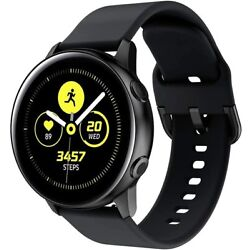 For Samsung Galaxy Watch Active 2 40mm 44mm Watch Band Silicone Sport Strap