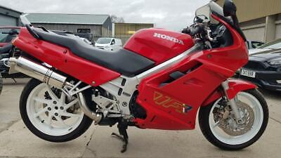 1995 H HONDA VFR750F RED CLASSIC SPORTS TOURING VFR 750 NEW MOT RIDES GREAT