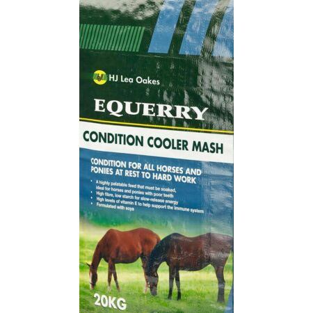 img-Equerry Conditioning Mash Horse Feed - Quick Soaking Non Heating Formula - 20kg
