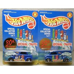 PAIR of Hot Wheels LE Otter Pop Dairy Delivery's