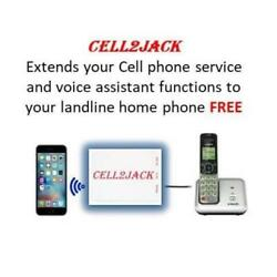 Kyпить Cell2Jack -Cellphone to Home Phone Adapter - Make and Receive Cell Phone Call on на еВаy.соm