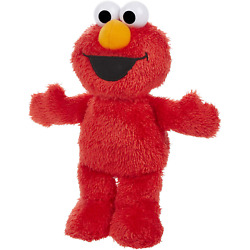 Sesame Street Little Laughs Tickle Me Elmo, Talking, Laughing 10-Inch Plush Toy