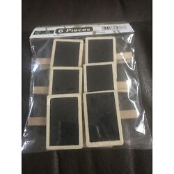 Melinera Chalk Board With Clothes Pin -6 Pc