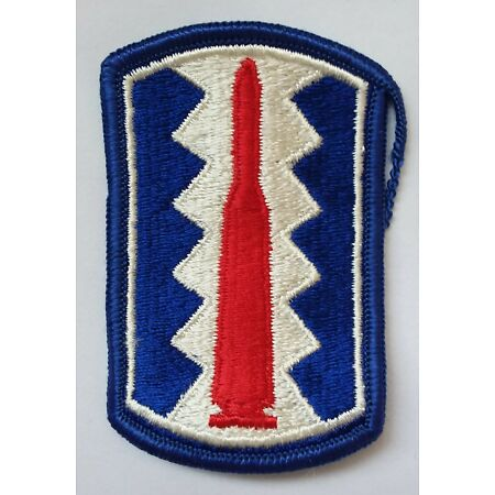 img-US ARMY PATCH 197th Infantry Brigade Colour Class A Uniform Badge United States