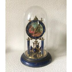 Kyпить Vintage Schatz Blue Enamel 400 Day Anniversary Clock for Parts or Repair на еВаy.соm