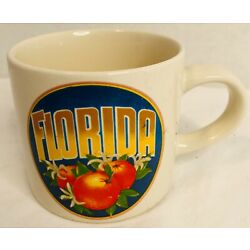 Kyпить  Vintage Florida Oranges Mug Ceramic  на еВаy.соm