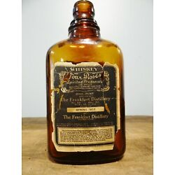 Kyпить Scarce 1917 Four Roses Prohibition Medicinal Whiskey Label Bottle Frankfort KY на еВаy.соm