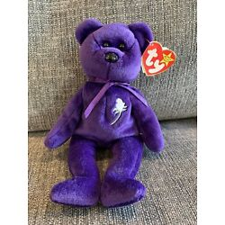 Kyпить Original 1997 TY Beanie Baby Princess Diana Bear - RARE Brand NewMINT with Tags на еВаy.соm