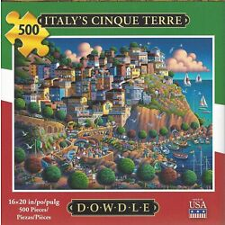 Kyпить Dowdle Italy's Cinque Terra 500 Piece Jigsaw Puzzle - Carefully used once на еВаy.соm