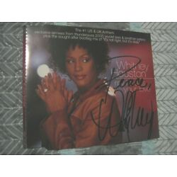 Kyпить WHITNEY HOUSTON hand SIGNED CD COVER на еВаy.соm