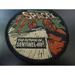 Kyпить VAFB The Return Of Sentinel-MFI 30th Space Wing Mission Patch, 3.5