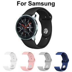 For Samsung Galaxy Watch Active 2 40mm/44mm Watch Band Silicone Sport Strap
